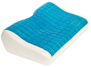 Cooling memory foam pillow