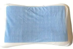 Memory foam cooling pillow
