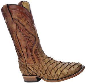 Pirarucu cowboy boots