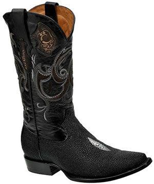 Fish cowboy boots