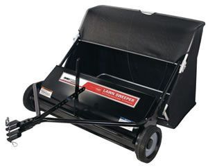 Pull behind lawn sweeper Ohio steel