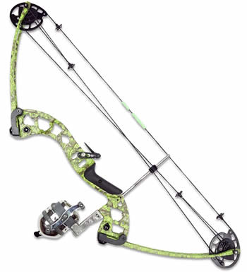 Muzzy Vice bow for fishing