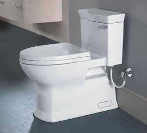 Toto enlongated toilet