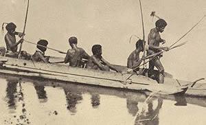 Bowfishing history