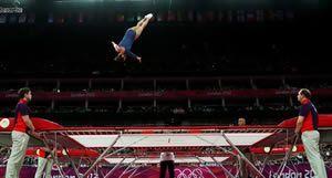 Trampoline olympics