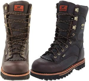 Irish setter insulated hunting boots