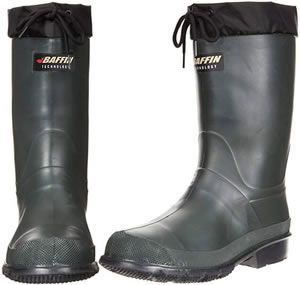 Warm waterproof hunting boots