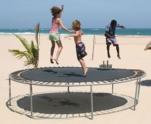Are trampolines good for toddlers
