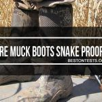 Muck boots snake proof
