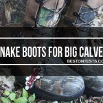 Snake Proof Boots for Big Calves