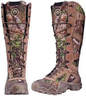 Snake boots for big calves