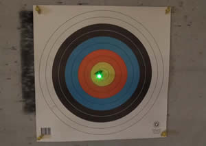 Ten point glow nocks