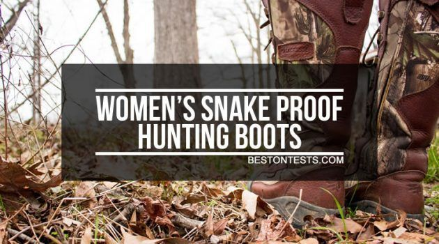 Best Women's Snake Proof Hunting Boots: Be Snakebite Free In 2020