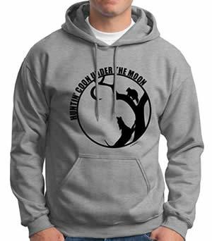 Coon hunting hoodie sweatshirts