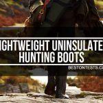 Lightweight hunting boots
