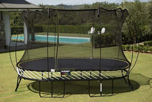 What is the safest trampoline