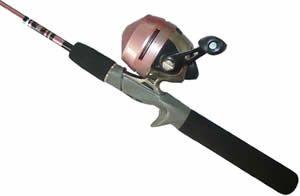 Zebco 202 fishing combo