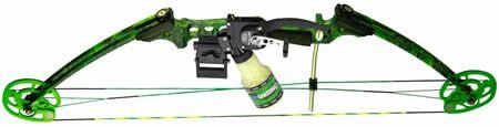 Left handed AMS bowfishing kit