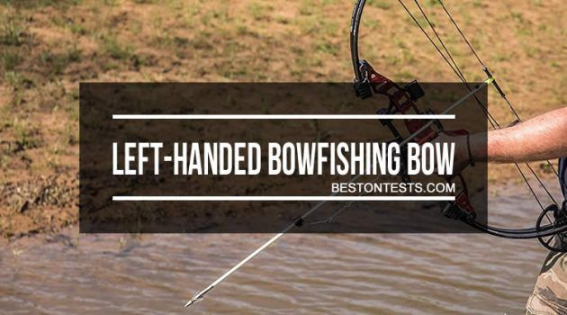 Left-Handed Bowfishing Bow: With And Without Ready-To-Fish Kits