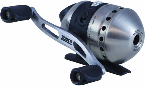 How to put fishing line on a closed face reel